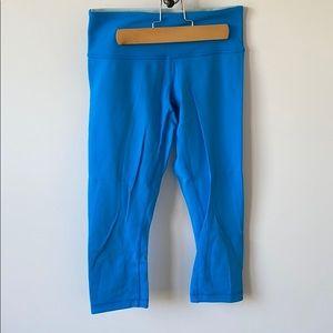 Reversible LULULEMON cropped leggings